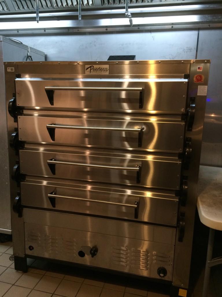 Peerless ovens 4 deck pizza