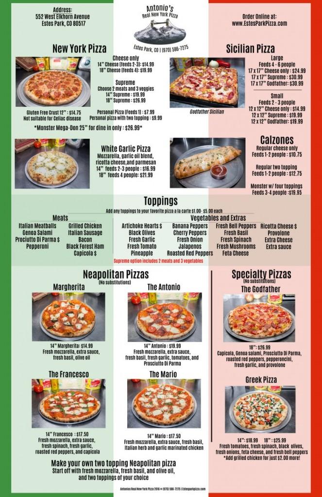 Antonio's Real New York Pizza p1