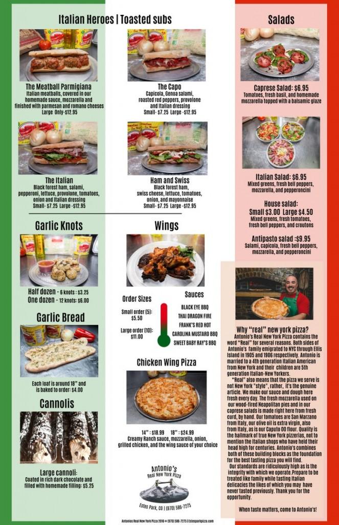 Antonio's Real New York Pizza p2